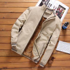Pop2019 Man Cotton Pure Loose Coat Leisure Temps Easy Jacket Veste Augmenter Épaississement Autre