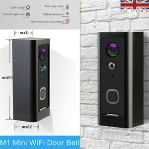 2020 Smart WiFi visuel Intercom IR-CUT Caméra IP HD parlophone Nuit Voir la Vidéo Sonnette Video Ring kits porte Sonnette