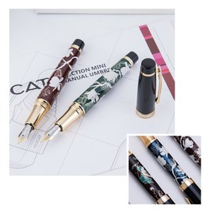 HongDian Hand-Drawing Fountain Pen Blue Magpie Nib 0.5MM Nib Fountain-Pens Gift Office Business Writing Set Stationery Supply