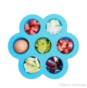 7-Loch-Eisbehälter Multifunktions-DIY Eisbereiter Lebensmittelqualität Babygeschirr Beikost Aufbewahrungsbox
