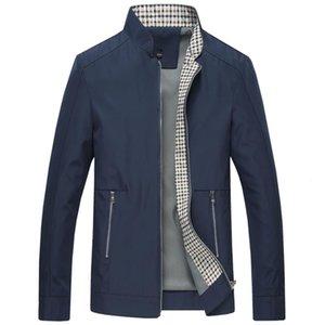 NAMTHEUN Yeni Bahar Sonbahar Erkekler Ceketler Casual Pamuk Palto Katı Renk Erkek Giyim Standı Yaka Erkek Ceket büyük beden M-6XL