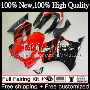 Body For HONDA CBR 600F4i CBR600 F4i Red black 04 05 06 07 45PG15 CBR 600 F4i CBR600 FS CBR600F4i 2004 2005 2006 2007 Fairing Bodywork