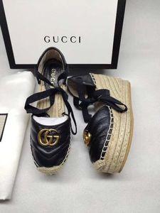 T92 últimos zapatos de tacones altos de alta calidad sandalias de las mujeres de cuero reales de moda deslizadores de las sandalias de la marca sflip neakers fracaso de la manera ocasional