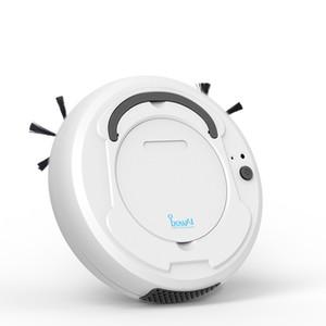 Smart Robot Aspirateur pour poussière balaient Home Office Rechargeable automatique Dirt Mop Floor Coins Cleaner poussière Sweeper lavage