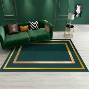 Geométrico 3D Phnom Penh tapete verde escuro cozinha sala de estar sala de estar sala de estar sofá sofá tapete tapete tapete tapete mat Casa Decorativa