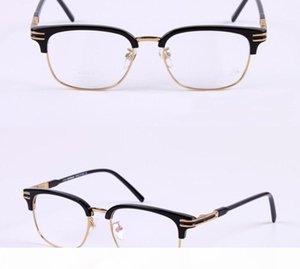 MB Brand Men Optical Glasses Frame MB669 Women Eyeglasses Frames for Men Gold Silver Tortoise Myopia Glasses Eyewear with Original Case