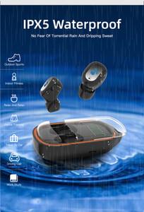 Nouveau X21S tws bluetooth casque stéréo écouteurs sans fil IP5X casque de sport étanche écouteurs avec boîte de charge pour écran LCD