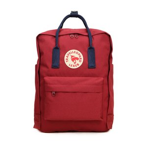 Factory Fjallraven Kanken Colored Ribbon Outdoor Travel Large Capacity Student Canvas Bags Mom Bags Computer Bags Sport Backpacks #QA655