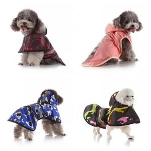 Pára-brisas de alta qualidade Animais Raincoat pequeno e cães grandes secagem rápida Poncho Reflective Luz Manto Água H1 29mq Proof