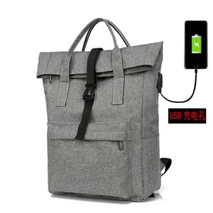 Waterproof Oxford cloth men and women backpack multi-function usb charging bag nylon backpack business,School bag, backpack,