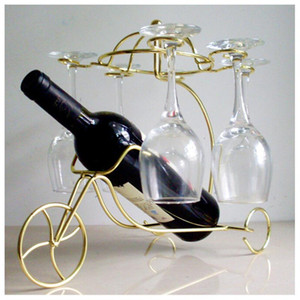 Baş Aşağı Kupası Goblets Ekran Raf Moda Metal Ana Bar Şarap Tutucu Asma Yaratıcı Narin Kırmızı Şarap Şişesi Gözlük Tutucu