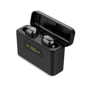 X9S TWS Bluetooth 5.0 Stereo Earphones 9D Display a LED senza fili auricolari Mini Headset cuffie impermeabili con il Mic per Smartphone