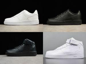 2020 Design-Forces-Männer Low One Mode Schuhe Alle White Black Brown preiswerte Frauen-Air High Skateboard-Schuh-Klassiker AF Fly Sport-Turnschuhe