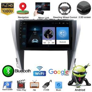 Radio Car GPS Multimedia-Player Android-9,0 Unit Radio Head carro para Toyota Camry 2015-2017 Apoio Steer Wheel Control