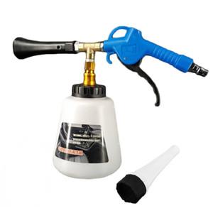 ارتفاع ضغط الهواء النبض المهنة بندقية تنظيف مع فرشاة غسل السطح