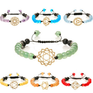 designer jewelry stainless steel bracelets natural lava stone crystal colorful beaded bracelets for women hot fashion
