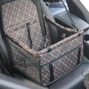 Portátil Car Pet Gauze Box de alta qualidade à prova d'água e sujeira prova Rear Seat Mat Para Cães Para Teddy Schnauzer Pomeranian Bulldog
