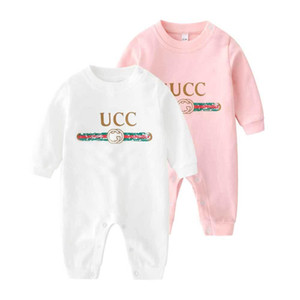 INS Hot Little Baby марка одежды младенца плед Ромпер Новый хлопок Новорожденные Девочки Мальчик Весна Осень Ромпер Детские Дизайнер младенческой Комбинезоны