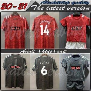 adult kids suit Top quality Manchester 20 21 RASHFORD BRUNO FERNANDES soccer jerseys MARTIAL JAMES football jersey shirts