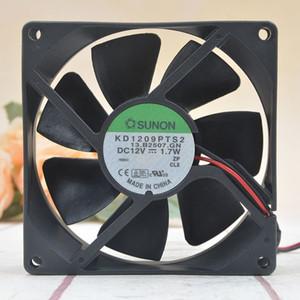 Jianzhun KD1209PTS2 9 cm 12 V 1.7 W 9225 9025 chassi fonte de alimentação motherboard silencioso ventilador