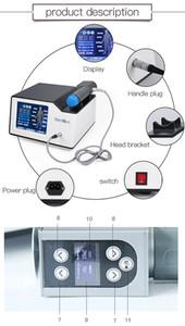 Portáteis eficazes Acústico Shock Wave Zimmer Shockwave Shockwave Terapia Máquina Remoção Dor Função Para Disfunção Eréctil / ED Treatmen
