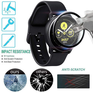 Active 2 Screen Protector cover For Samsung Gear S3 Frontier galaxy Watch 46mm 42mm Active 2 40mm 44mm HD Transparent film cover