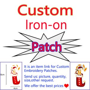 Supplier Cheapest Custom Patches High Quality Embroidery Iron on Transfer Applique Patch for Cloth Bags Coat Jeans All Kinds Free Shipping