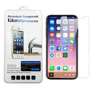 Screen Protector для iPhone 11 PRO MAX XS Max XR XS закаленное стекло для Samsung A20 A50 A10E Мото G7 Мощность Мото E6 Z4 LG Stylo 5 K40 в коробке