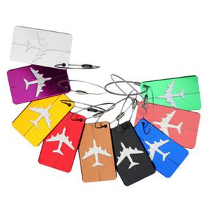 алюминиевого сплав багажной бирки этикетка держатель ремни Теги сумка Путешествие Аксессуары Чемодан ID Travel Bag Имя Теги