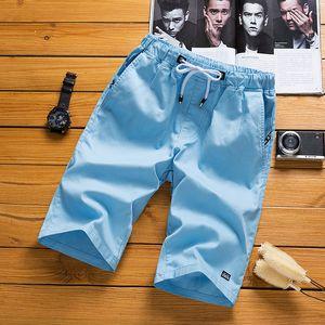 Hot Sale Men Casual Short Summer Beach Shorts Breathable Elastic Waist Fashion Boardshorts Plus Size 5XL Sports Workout Shorts