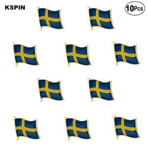 Schweden-Flaggen-Revers Pin Flagge Abzeichen-Brosche Abzeichen