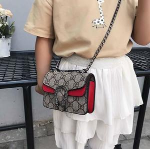Çocuk 5adet Cüzdanlar Mini Prenses Kız Pruses Moda Klasik Desen Tasarımı Zincir Çapraz vücut Çocuklar Candly Çanta Çanta