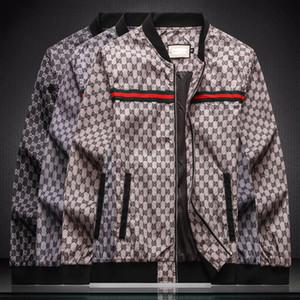 2020ss Erkekler Tasarım Ceket Lüks High Street Medusa Fermuar Harf Kapşonlu Ceket WINDBREAKER Erkek Giyim Kadın Yüksek Kalite Etiketi Yeni Baskı