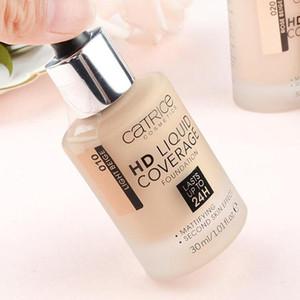 Germania Brand Makeup Foundation HD Liquid Coverage Foundation 24h durata 30ml / 1.01fl.oz Catrice Cosmetic Foundation Spedizione gratuita