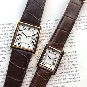 Homens e Mulheres de relógios de luxo Relógios de alta qualidade para Strap Couro Vestido Mulheres negócio de relógios Quartz Movimento impermeáveis deisgner Relógios