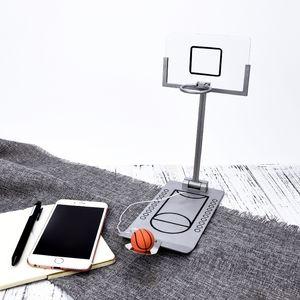 Basketbol Hoop Mini Masaüstü Katlama Basketbol Makinası Stres Rahatlatıcı Küçük Oyuncak Spor Yaratıcı Basketbol Komik Hediye Rebound