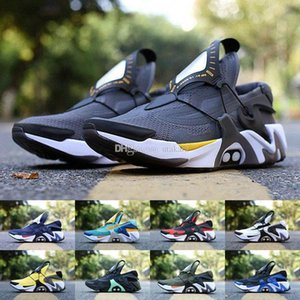 2020 New Adapt Huarache Racer Blue Casual Shoes Men Navy Black White Huaraches Designer Huraches Brand Hurache Casual Shoes