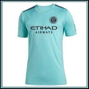 2019 MLS Parley New York City FC teal jerseys homens camisa de futebol 19 20 MLS Parley New York City FC teal camisas de futebol