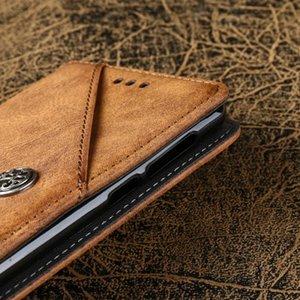 Cas TAOYUNXI Vintage Flip pour ZTE Axon 7 Mini cas pour ZTE Blade L5 L7 Nubia M2 V5 Pro V7 V8 V9 Lite Plus X3 Z17 Z18 Mini Cover