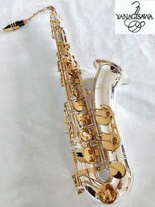 Marque NEW YANAGISAWA W-037 Saxophone Ténor Placage Argent Clé Or Professionnelle YANAGISAWA Super Play Bec Embouchure Avec Étui
