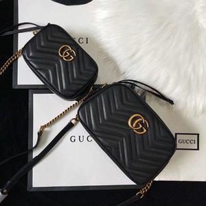 gucci 2019 sacs à main porte-monnaie 2019 sac à bandoulière de sacs de mode Sac à main sacs de taille taille 18 * 12 * 24 * 6cm 13-7cm