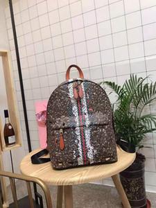 Sırt çantası Kadın Yeni Retro Baskı büyük kapasiteli Tek Omuz Sözleşmeli Tut-all Men Ve Kız Para Okul Çantaları olan kadınların Tide