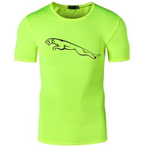 Brand Summer T Shirt Men Joggers Fitness Polyester Tees Homme Short Sleeve Dry Dry Tops Tees Men's T-Shirts New Arrival
