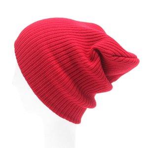 Faroonee nouvelle mode des femmes / hommes Tricot Bonnet Hip-Hop Caps chaud d'hiver unisexe femmes Feminino stretch casquette os