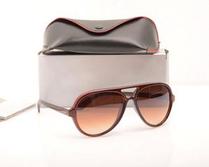 Moda Güneş vaka ve Boxs ile UV400 koruma gözlükleri gözlük Klasik Mens güneş gözlüğü Lüks Kadınlara özel güneş gözlükleri Marka Tasarımcısı gözlük