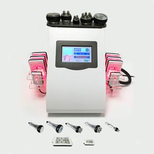 8PCS Lipo 레이저 패드 RF 무선 주파수 슬리밍 초음파 지방 흡입 수술 공동 현상 체중 감소 기계 지방은 셀룰 라이트 제거 장비를 감소