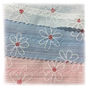 Tessuto di cotone di estate di alta qualità 2m / lot per il commercio all'ingrosso floreale del fiore della stampa della schiuma della camicia di vestito