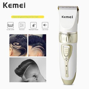 Kemei 1817 Trimmer Rechargeable mens hair shaver Salon Hair Machine For Men Professional Hair Trimmer EU Plug 42D sweet07 LjeHJ