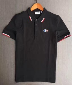20ss Men's Polos High Quality Crocodiles Polo Shirt Men Solid Wash Water Cotton Shorts Summer Homme Mens Shirts Poloshirt WML522 NJHBO2J8