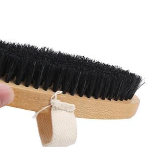 Sapatos Oval Brilho Escova com cinto de couro Brasão Bag Cuidados Lavagem Waxing Ferramentas